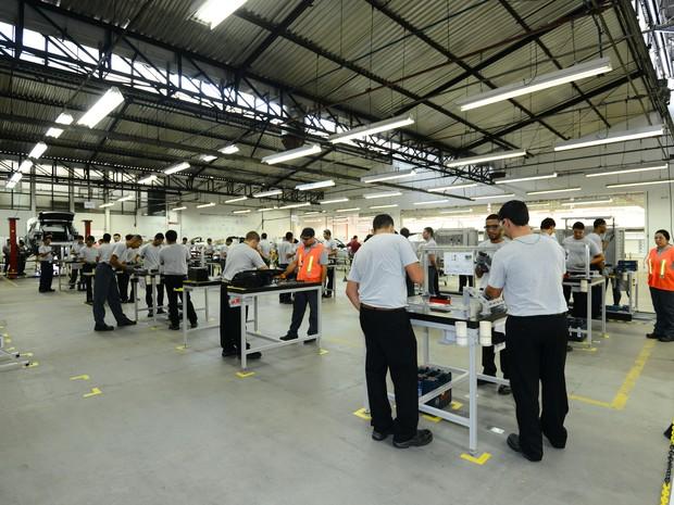 Centro de treinamento da Jaguar Land Rover, em Itatiaia (RJ) (Foto: Divulgação)