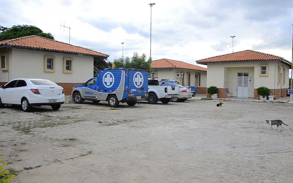 IML de Paulo Afonso, local para onde o corpo da criança foi encaminhado (Foto: José Carlos Ferreira/Divulgação)