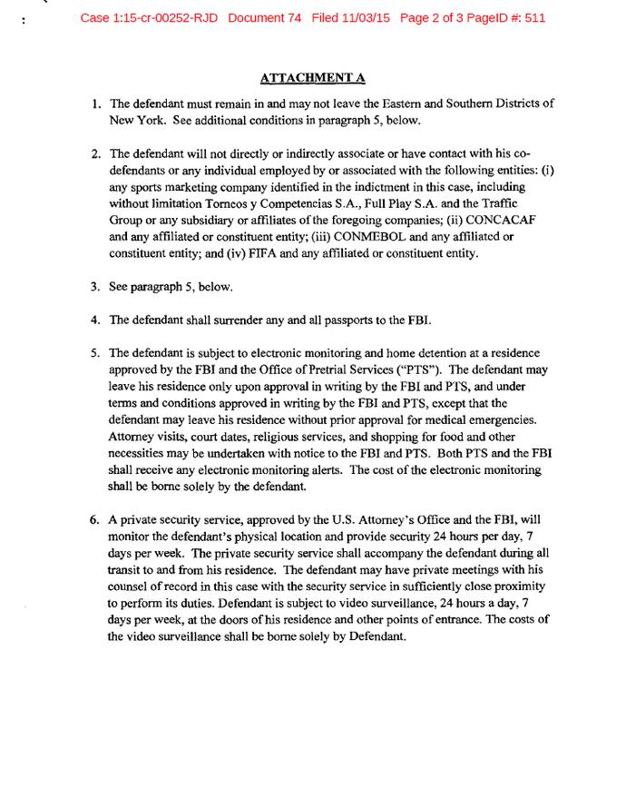 Documento Marin justiça americana pagina 2 (Foto: Reprodução)