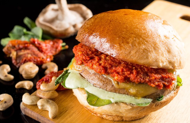 Hambúrguer vegetariano (Foto: Divulgação)