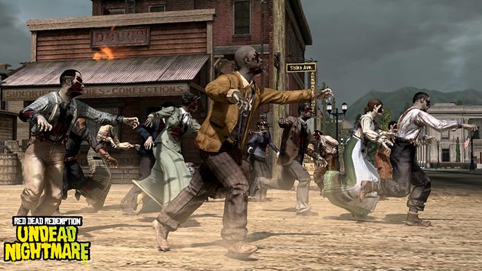Fãs querem ver uma expansão single player em Red Dead Redemption 2; o primeiro jogo contou com a DLC Undead Nightmare, que trazia hordas de zumbis para o velho oeste (Foto: Divulgação/Rockstar)