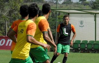 Pronto para o primeiro jogo, Diego sonha com estreia na Vila Belmiro