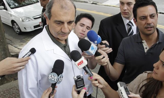 O médico Raul Cutait
