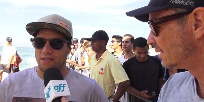 Mineirinho comenta sua derrota no primeiro round do Rio Pro