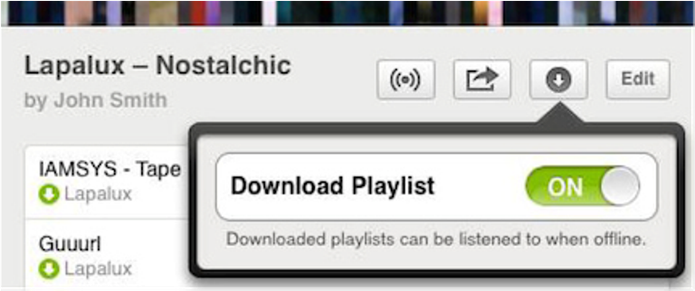 Ative Playlists em seu iPad (Foto: Divulgação)