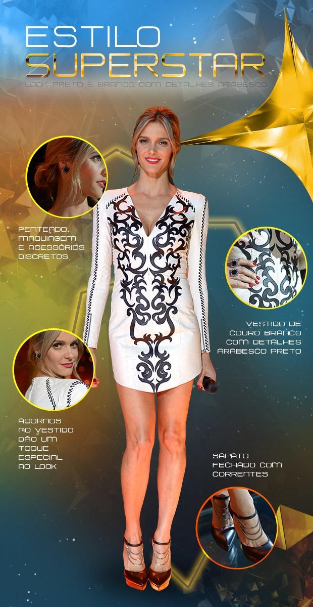 look Fernanda Lima (Foto: SuperStar / TV Globo)