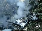Motor de helicóptero que caiu em GO estava sem alimentação, diz fabricante