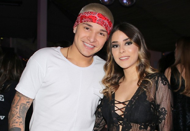 MC Gui e Luiza Cioni (Foto: Thiago Duran/AgNews)