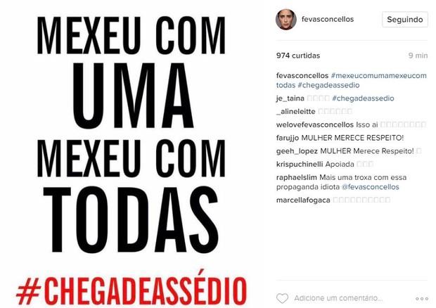 Fernanda Vasconcellos (Foto: Reprodução/ Instagram)