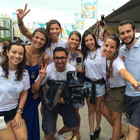 Equipe dos programas semanais da RBS TV (Foto: RBS TV/Divulgação)