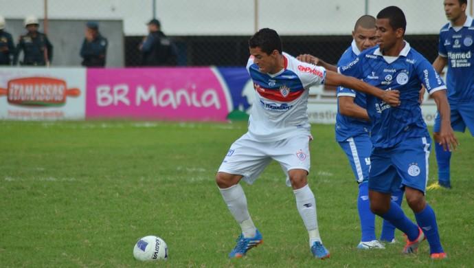 Itabaiana venceu, mas não se classificou (Foto: Felipe Martins)
