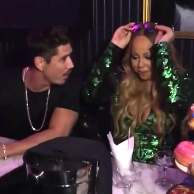 Mariah Carey e Bryan Tanaka (Foto: Reprodução/Instagram)