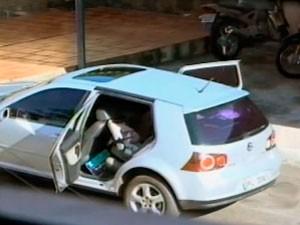 bebê morre em carro Santa Rosa (Foto: Reprodução/RBS TV)