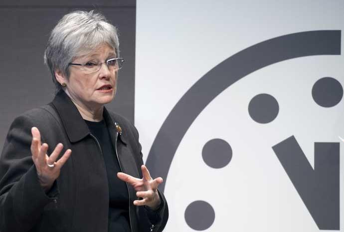 Kennette Benedict, diretora executiva do Boletim de Cientistas Atômicos