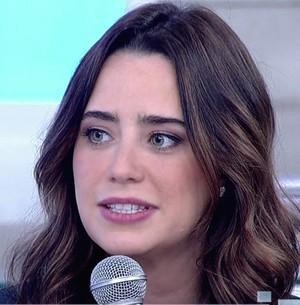 Fê Vasconcellos revela bullying na infância (TV Globo)