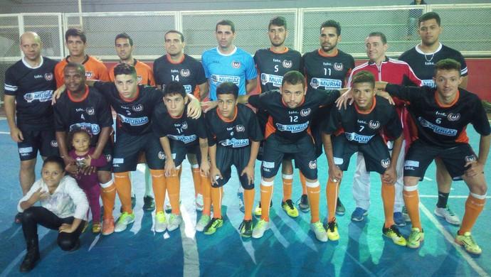 Jogadores do Muriaé Futsal (Foto: Rafael Alves/Divulgação)