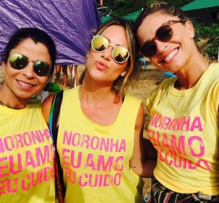 Anna Lima, Grazi Massafera e Giovanna Ewbank