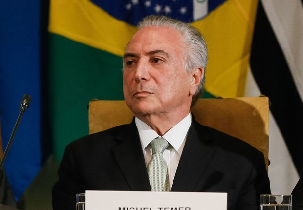O presidente Michel Temer em encontro Brasil-Suécia (Foto: Beto Barata/PR)