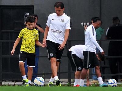Ledesma (Foto: Ivan Storti/ Divulgação Santos FC)