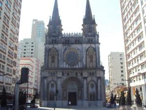 Igreja do Embaré, em Santos, SP (Foto: Divulgação/ Diocese de Santos)