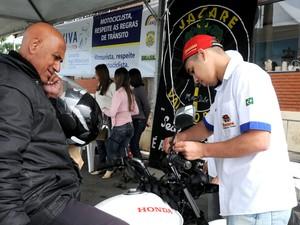 Motociclistas serão orientados sobre a utilização correta dos equipamentos de segurança (Foto: Divulgação)