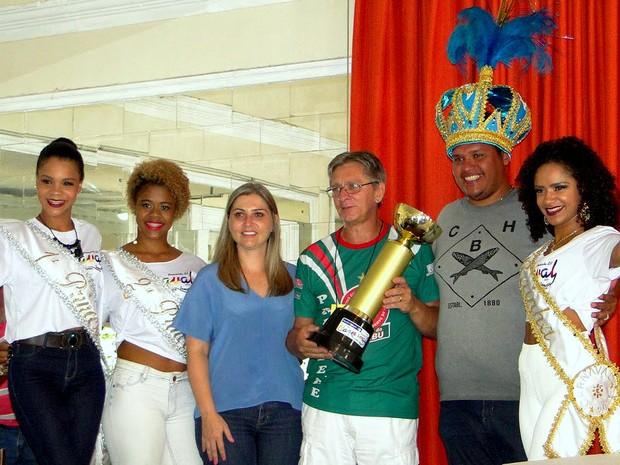 Caxambu é campeã do Carnaval 2016 de Piracicaba (Foto: Adilson Franco Cardoso/Prefeitura de Piracicaba)