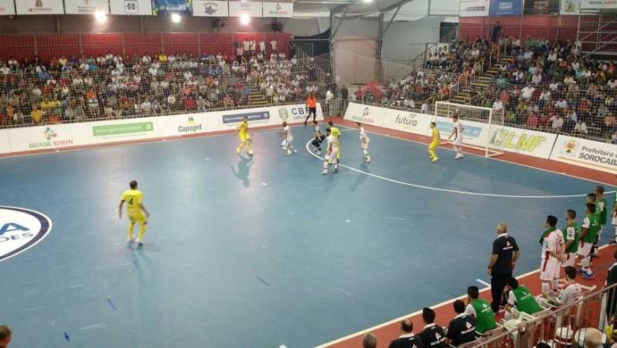 Sorocaba Futsal, futsal, Marechal Rondon, LNF, liga futsal (Foto: Emilio Botta)