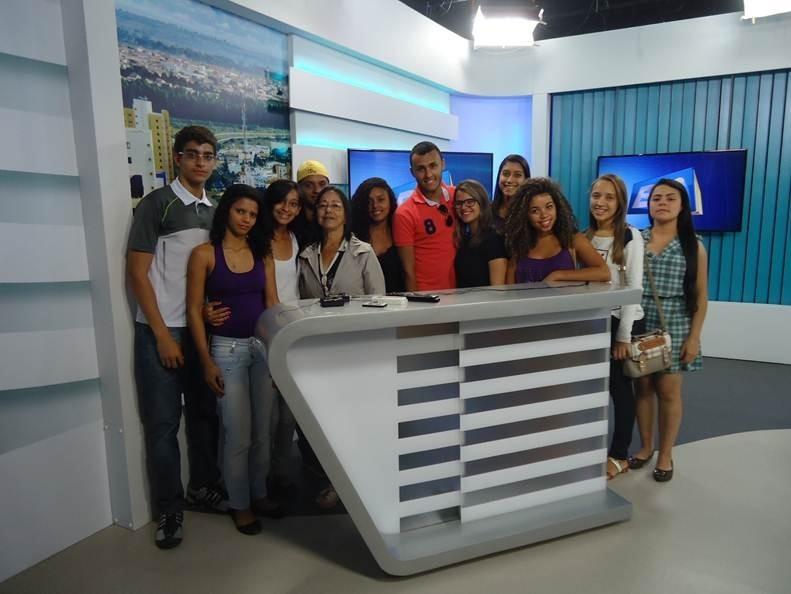 Visita TV Sudoeste (Foto: Divulgação)