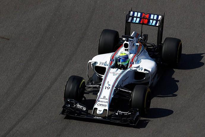 Felipe Massa no treino livre para o GP da Rússia (Foto: Divulgação)