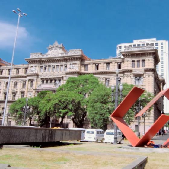 Prédio do Tribunal de Justiça de São Paulo (Foto: Reprodução/ Youtube)