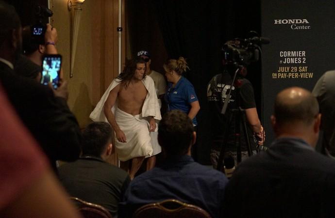 Brian Ortega pesagem UFC 214 (Foto: Evelyn Rodrigues)