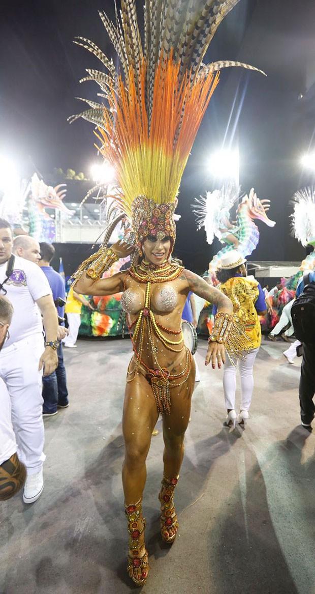 Fabi Frota (Foto: Eduardo Saraiva/ Ed. Globo)