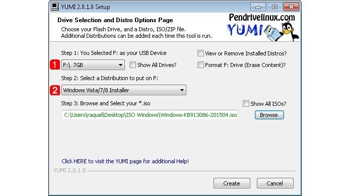 Configuração do pendrive de inicialização do Windows (Foto: Reprodução/Raquel Freire)