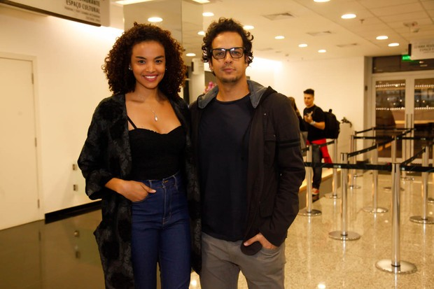 Lucy Ramos e Thiago Luciano (Foto: Manuela Scarpa/Brazil News)