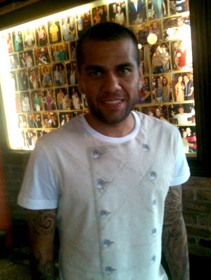 Daniel Alves (Foto: Marcelo Baltar)