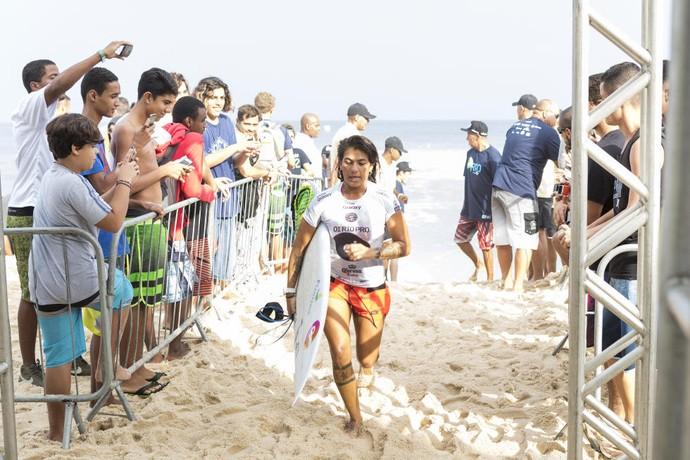 Silvana Lima após 1ª fase do Rio Pro (Foto: Divulgação)