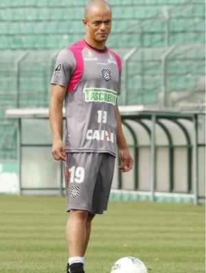 Julio Cesar, atacante do Figueirense (Foto: Luiz Henrique, Divulgação / Figueirense FC)