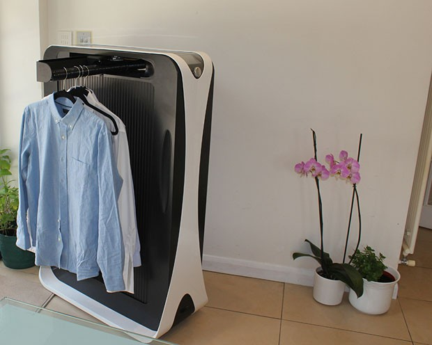 Effie: uma máquina de passar roupa para quem deseja aposentar o ferro (Foto: Divulgação)