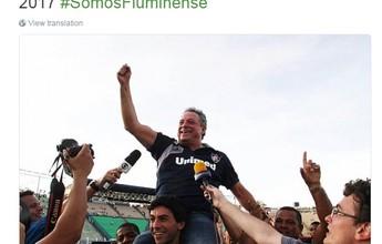 Fluminense anuncia Abel Braga, e técnico será apresentado nesta sexta