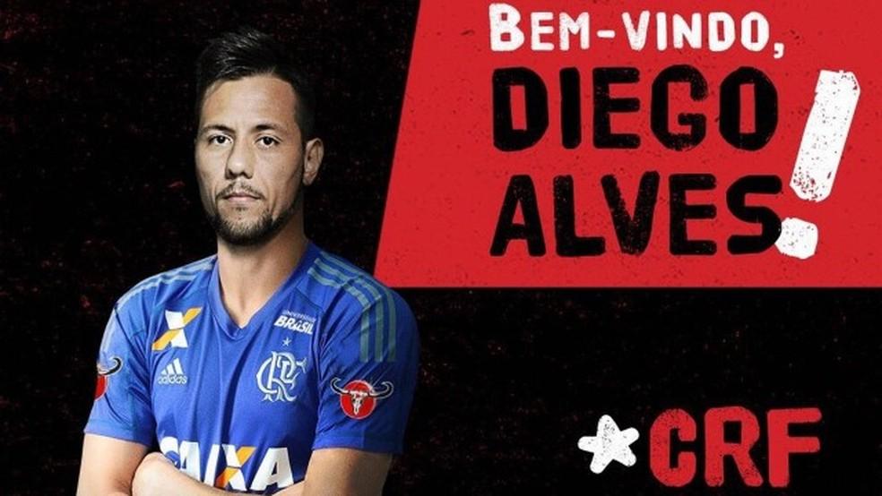 É do Flamengo: goleiro Diego Alves está de volta ao futebol brasileiro (Foto: Divulgação)