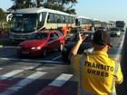Volta às aulas faz aumentar número de veículos nas ruas de Sorocaba