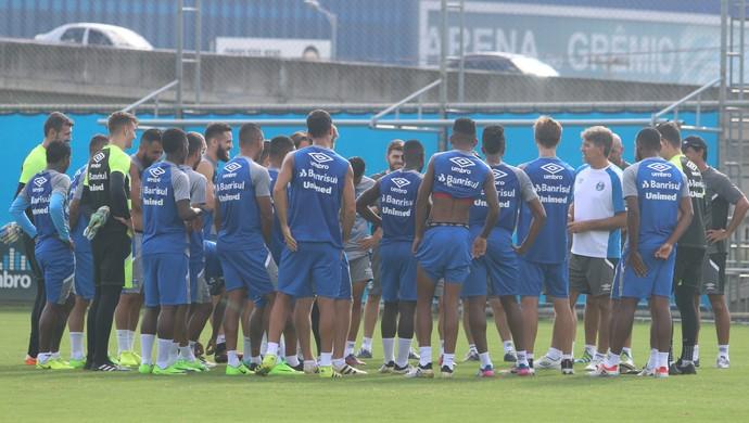Grêmio treino elenco Grêmio renato Grêmio (Foto: Eduardo Deconto/GloboEsporte.com)