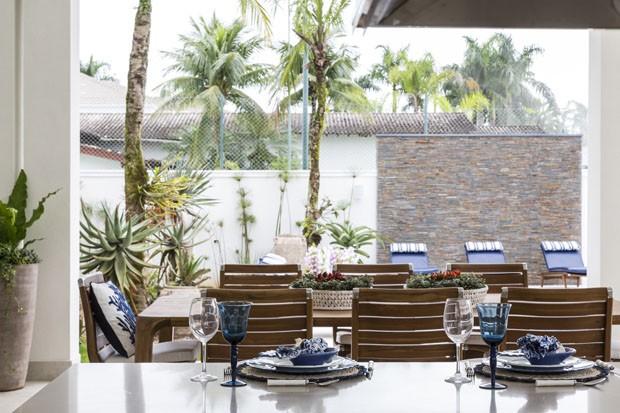 Casa de praia: 1400 m² de pura leveza à beira-mar (Foto: Evelyn Müller)