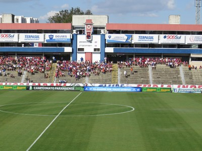 Vila Capanema Paraná Clube Atlético-PR (Foto: Fernando Freire)