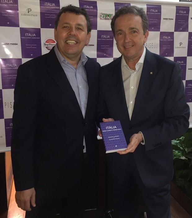 Juscelino Pereira e Gerardo Landulfo (Foto: Editora Globo)