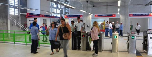 Novas estações de trem operam gratuitamente neste fim de semana (Foto: Marco Pecker/Divulgação, Trensurb)