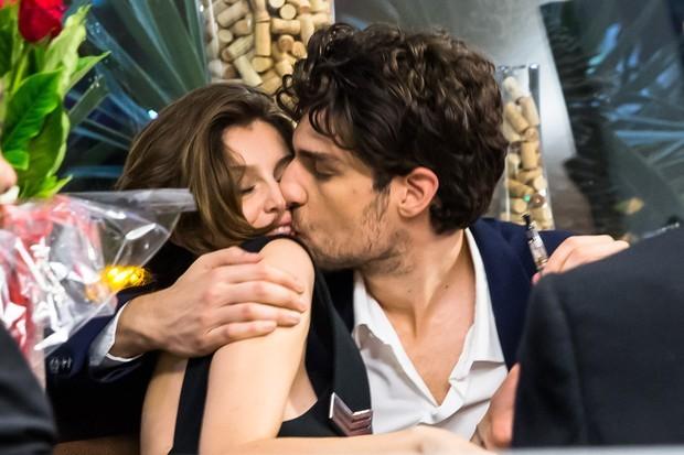 Laetitia Casta e Louis Garrel (Foto: Manuela Scarpa/Brazil News)