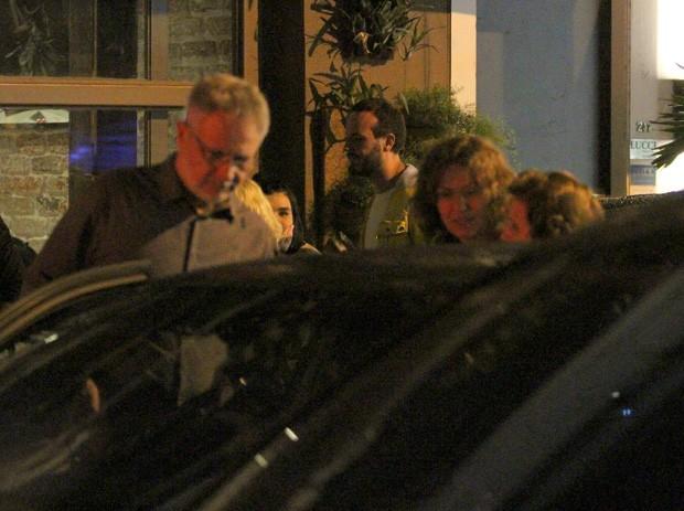 Patrícia Pillar e Carlos Henrique Schroder (Foto: Delson Silva/AgNews)