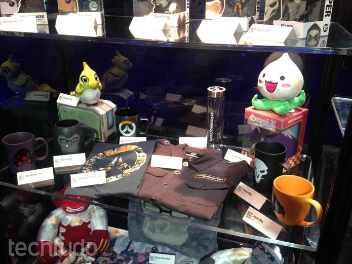 BlizzCon teve loja com preços bem variados entre os itens presentes  (Foto: Felipe Vinha/TechTudo)