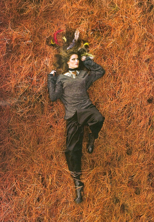 Isabeli Fontana (Foto: Jacques Dequeker/ Arquivo Vogue Brasil Vogue Brasil (Junho 2009))